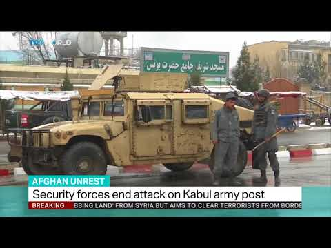 Kabul on edge as Daesh launches fresh attack on military compound