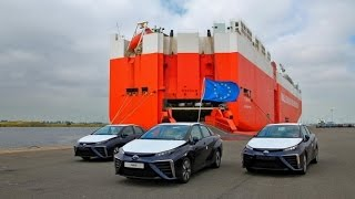 Toyota MIRAI(ミライ) 欧州初上陸 先行は英国やドイツで販売!! 【関...