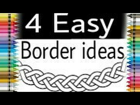 Border ideas for project framing projects outlines drawing files also rh youtube