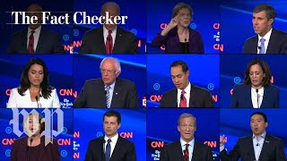 Fact-checking the fourth Democratic debate