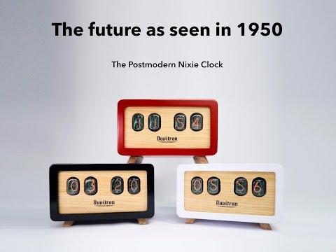 The Postmodern Nixie Clock - by Nuvitron