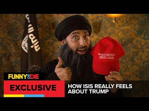 How ISIS Really Feels About Trump With Aasif Mandvi
