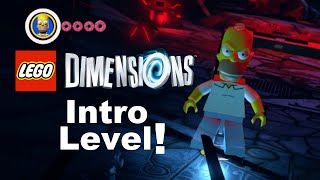 LEGO Dimensions: Introduction Level! Messing around with characters! (Part 1)
