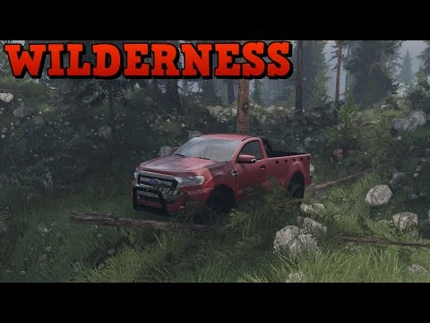 SpinTires UHD | Wilderness | Map Mod | Ford Ranger