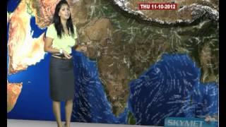Skymet Weather Report - India October 10, 2012