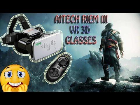 REVIEW RITECH Riem III Virtual Reality 3D Glasses-VR BOX -  Google Cardboard 3D - From Gearbest