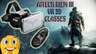 REVIEW RITECH Riem III Virtual Reality 3D Glasses-VR BOX - Google Cardboard 3D - from Gearbest