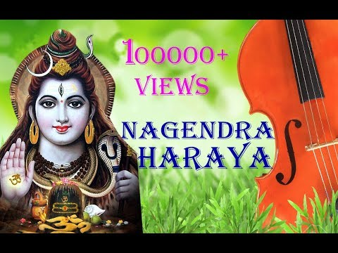 Nagendra haraya trilochanaya with lyrics-Shiva Panchakshari Stotram