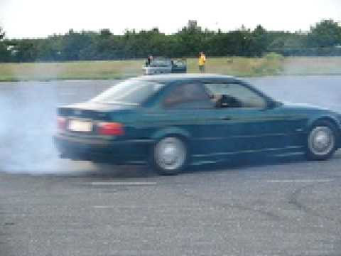 BMW e36 320i M52B20 Coupe Stock Factory fitted LSD 25% - Donuts Drifting Burnout Białystok Krywlany