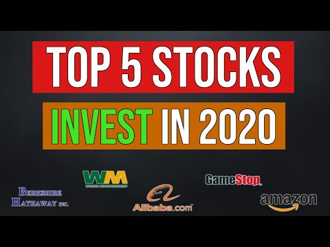 Top 5 Stocks To Buy In 2020