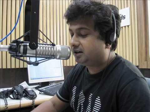 91.9 friends fm rj raja das/ kobita /'MUKHOMUKHI' RJ Raja with RJ Satyajit