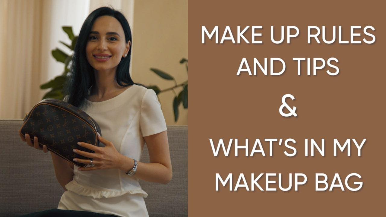 What's in my makeup bag & makeup etiquette and rules