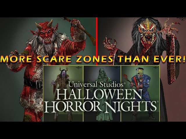 Five New Scare Zones Are Coming To Halloween Horror Nights 2019!