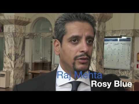 Raj Mehta Rosy Blue Interview from Antwerp Diamond Trade Fair 2014