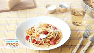 Sauteed Tomato And Herb Pasta - Everyday Food With Sarah Carey