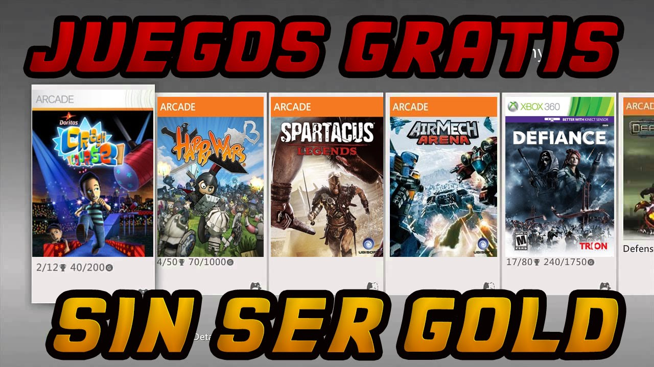11 Juegos Gratis Xbox 360 Sin Ser Gold Legal Mayo 2015 Youtube