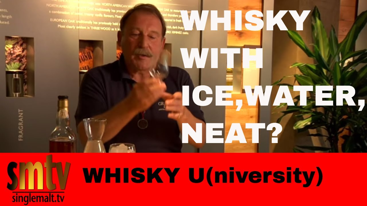 Not so neat: Why you should add water to your whiskey