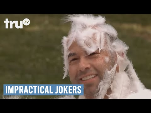 Impractical Jokers - Tarred and Feathered (Punishment) | truTV
