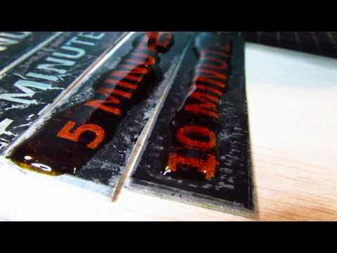 Aluminium Etching with Ferric Chloride