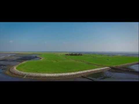 Oland - Wadden Sea drone shots Phantom 4
