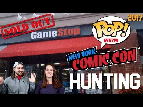 NYCC 2017 Funko POP! Hunting and More - A Bad Day Made Better