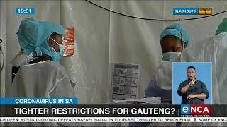Coronavirus in SA | Tighter restrictions for Gauteng?