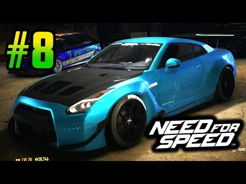 200 MPH NISSAN GTR - Need for Speed 2015 - Part 8 Playthrough!