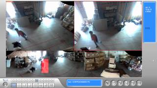 Video Demo: Fisheye Security Camera Object Tracking Software Feature