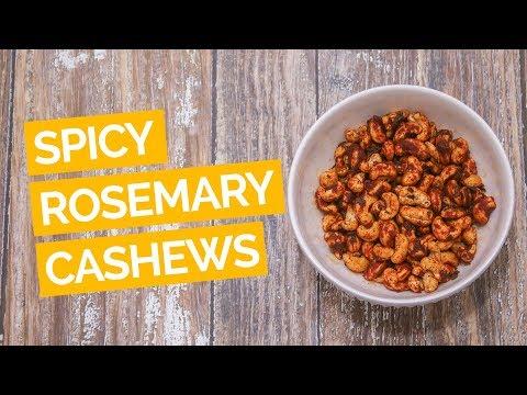 Spicy Rosemary Cashews Recipe