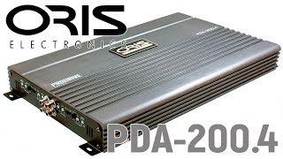 Обзор четырех-канального усилителя Oris PDA 200.4. Отзыв об эксплуатации.