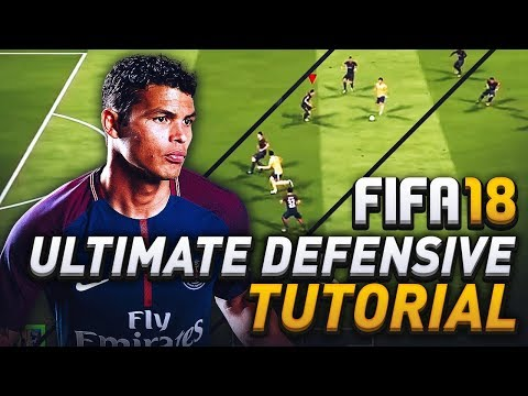 FIFA 18 ULTIMATE DEFENDING TUTORIAL! HOW TO PRESSURE, IMPROVE INTERCEPTIONS, & MAKE BETTER TACKLES!