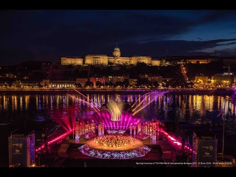 Opening Ceremony Budapest 2017 17th FINA World Aquatics Championships