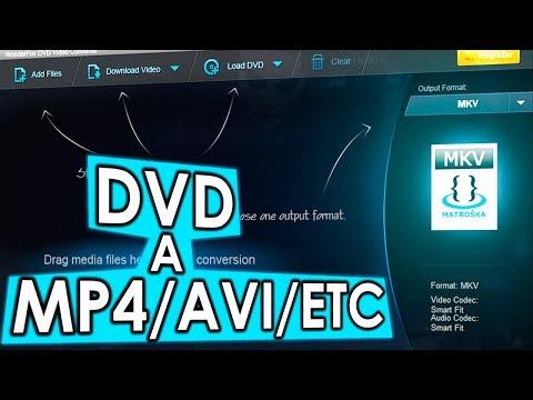 Cómo CONVERTIR DVD a MP4/AVI/FLV con Wonderfox DVD VIDEO CONVERTER