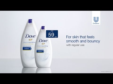 Dove Body Wash Nourishes Skin Better Than Milk. Try It For 59 Pesos!