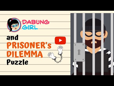 🤔 Prisoner's Dilemma Puzzle | Can you solve the case of two prisoners? | Game Theory Prison Riddle