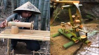 Gambar cover Amazing ideas Build bamboo furniture