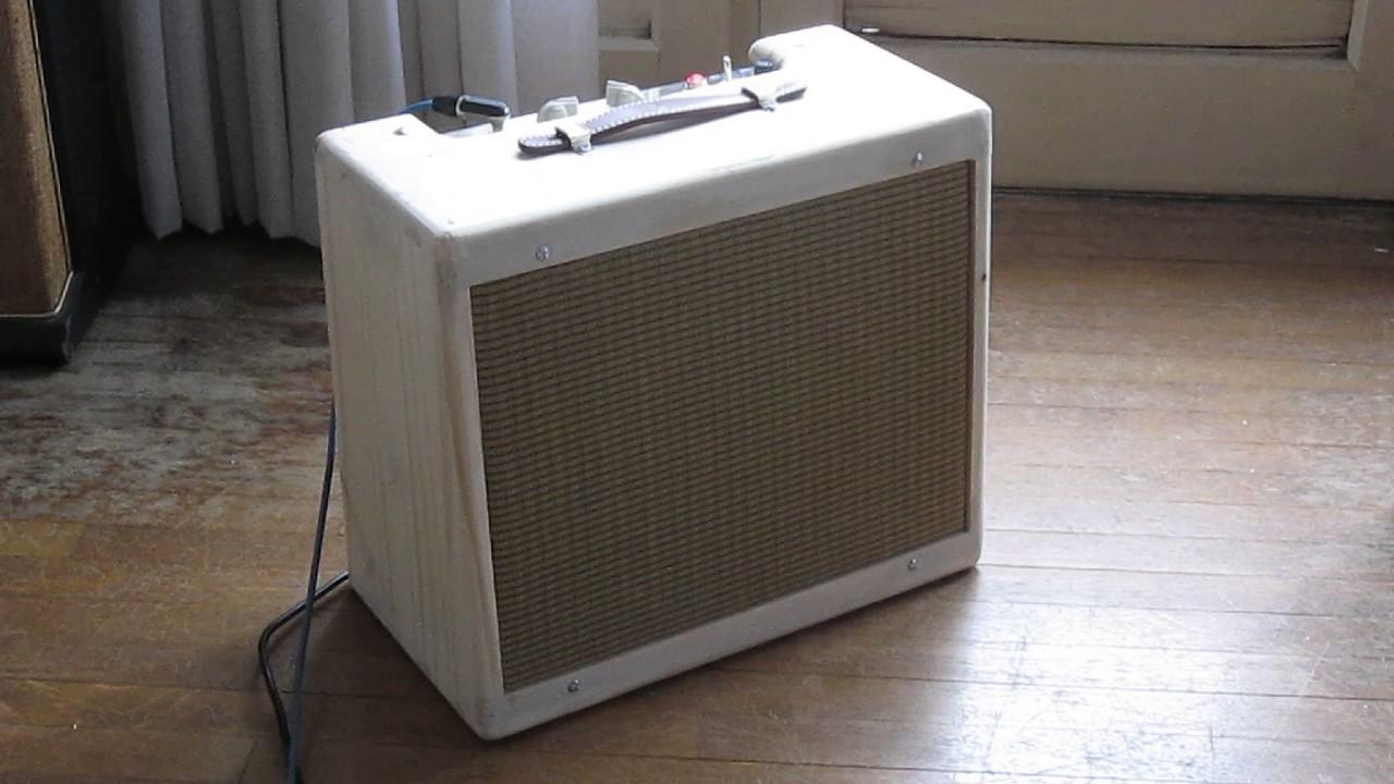Clone Princeton 5F2 Tweed Guitar Amp 10 Alnico Speaker CTS
