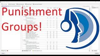 Teamspeak 3 Server how to make Punishment usergroups tutorial