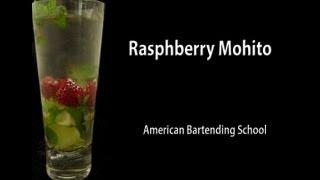 Raspberry Mojito Cocktail Drink Recipe