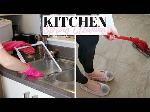 5 PLACES TO SPRING CLEAN IN YOUR KITCHEN UK