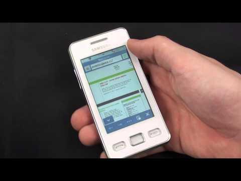 Samsung Star II - internetový prohlížeč
