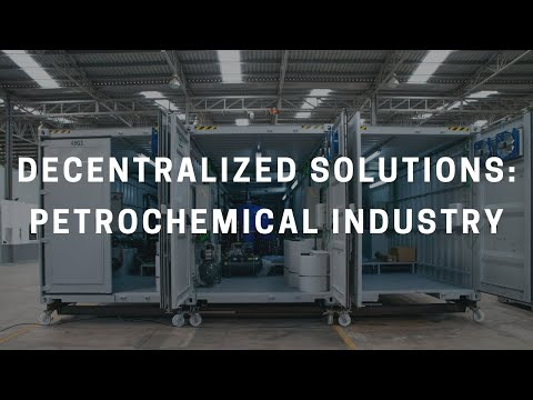 Decentralised solution: Wastewater treatment petrochemical industry