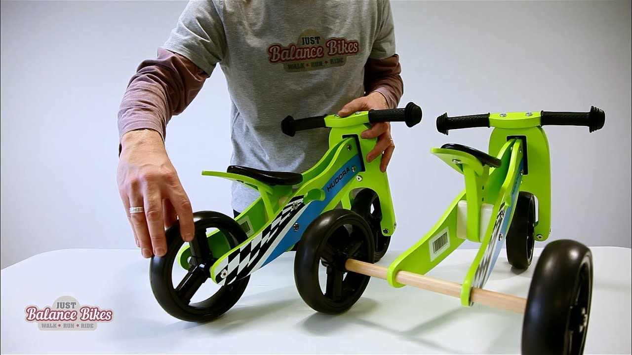 Hudora Trike Balance Bike Youtube