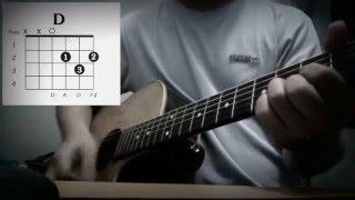 Hướng dẫn hợp âm guitar | UP TO YOU - MIN