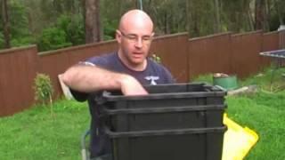 How to make a worm farm.