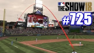 TWO LONGEST HOMERS I'VE EVER HIT IN ONE GAME! | MLB The Show 18 | Road to the Show #725