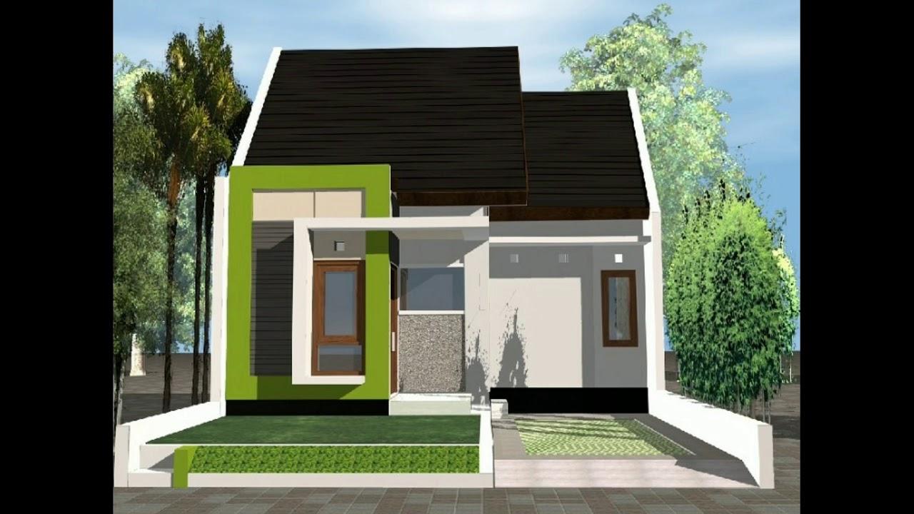 Desain Rumah Minimalis - Type 36 Modern - YouTube