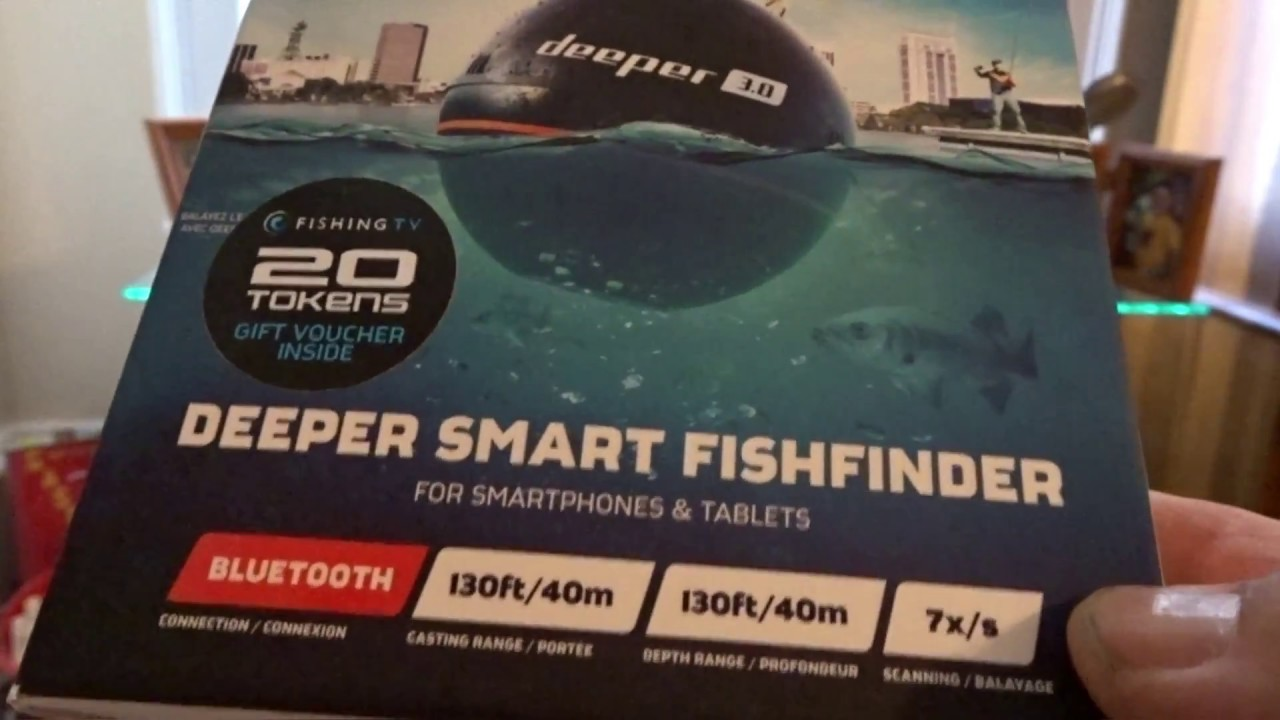 Deeper Kayak Fish Finder Review Deeper 3 0 Bluetooth