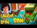 Try Not to Laugh or PERM BAN - Minecraft Hacker Trolling EP96