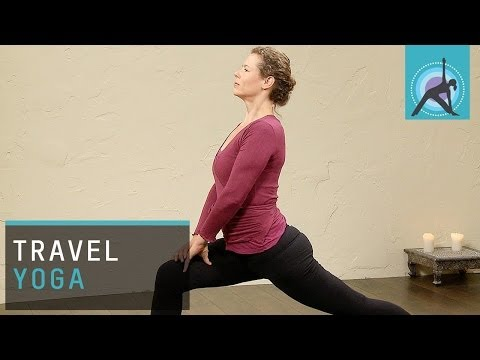 Travel Yoga, an Anusara Yoga Sequence